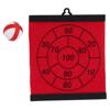 Dartball Board Aracno in red