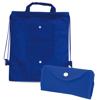 Foldable Drawstring Bag Nomi in blue