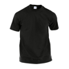 Adult Color T-Shirt Hecom in black