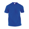Adult Color T-Shirt Hecom in blue