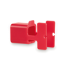 Charger Holder Fonex in red