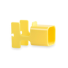 Charger Holder Fonex in yellow