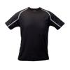 T-Shirt Tecnic Fleser in black