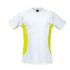 T-Shirt Tecnic Combi in yellow