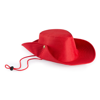 Hat Tosep in red