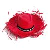 Hat Filagarchado in red