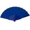 Hand Fan Tela in blue
