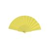 Hand Fan Tela in yellow