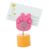 Clip Memo Holder Sharpener Hood in pink