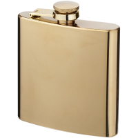 Elixer 175 ml gold hip flask
