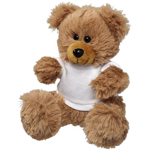 Plush Sitting Bear with Shirt