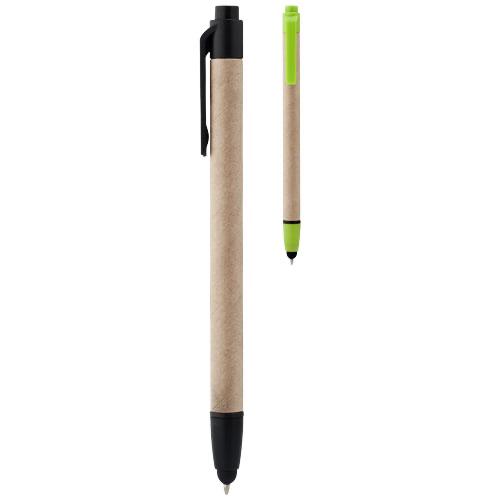Planet recycled stylus ballpoint pen