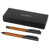 Woodgrain Duo Pen Set