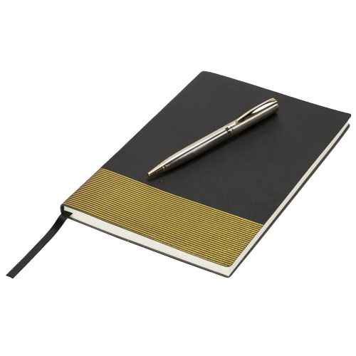 Midas gift set with notebook and pen