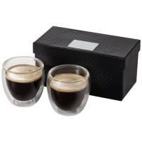 Boda 2-piece glass espresso cup set