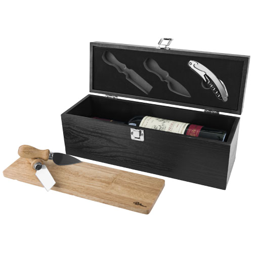 Mino wine box and cheese board set