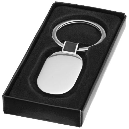 Barto oval keychain