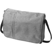 Fromm heathered 15.6'' laptop messenger bag