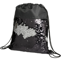 Mermaid sequin drawstring backpack