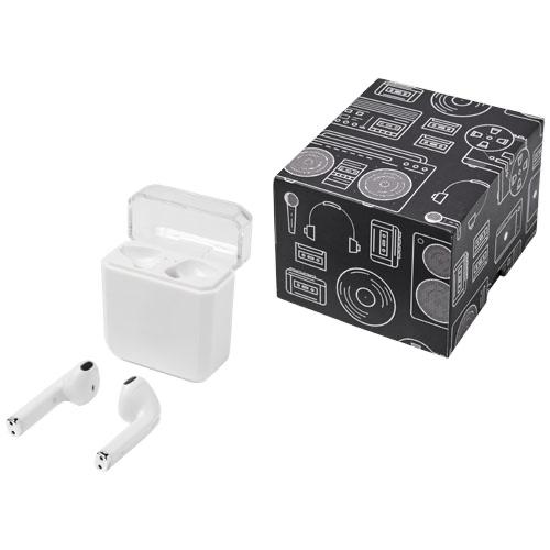 Braavos wireless charging TrueWireless earbuds