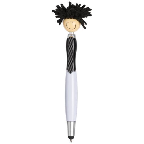 Mop Head stylus ballpoint pen