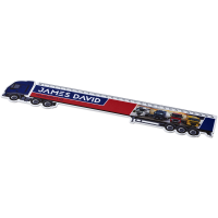 Loki 30 cm lorry-shaped plastic ruler