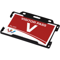 Vega plastic card holder