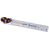 Loki 15 cm heart-shaped plastic ruler