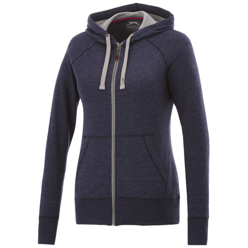 Groundie full zip ladies hoodie
