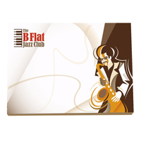 BIC 101 mm x 75 mm 50 Sheet Adhesive Notepads