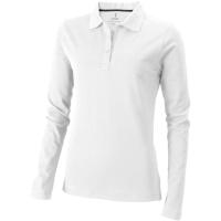 Oakville long sleeve women's polo