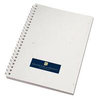 Enviro-Smart - A5 White Cover  Wiro-Bound Pad.