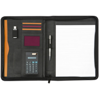 Pembury Zipped Calcufolder Folder A4