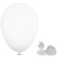 10 Inch Latex Balloons with Helium Valve – HeliValve