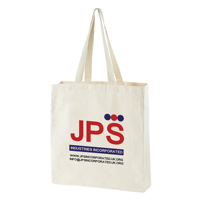 Natural Premium Canvas Shopper