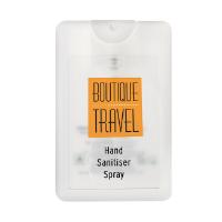 Credit Card Antibacterial Hand Sanitiser Spray, 20ml