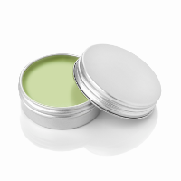 Apple Lip Balm with a Twist on Lid, 10ml