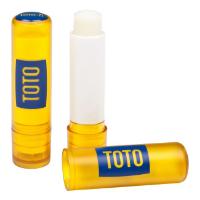 Yellow Lip Balm Stick, Domed label, 4.6g