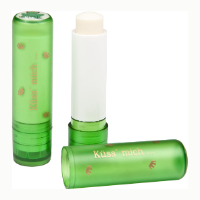 Green Lip Balm Stick, Domed label, 4.8g