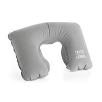 Grey Inflatable Neck Pillow