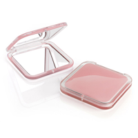 Pink Acrylic Compact Mirror