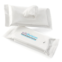 15 Antibacterial  Wet Wipes in a Soft Pack