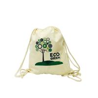 Dunham 6oz Natural Double Drawstring Bag