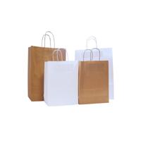 Hardwick 100gsm Ribbed Large A3 Kraft Paper Bag