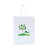 Walton A4 White Gloss Laminated Paper Carrier Bag
