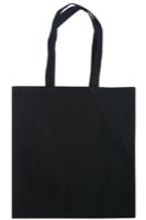 Dunham 8oz Premium Blackl Cotton Shopper Bag