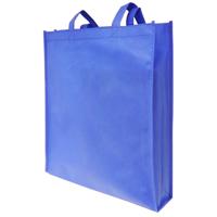 Royal Blue Non-Woven Poypropylene Bag with Gusset