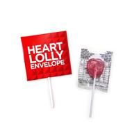 Heart Lolly Envelope