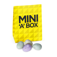 Mini 'a' Box Speckled Eggs