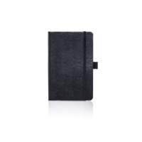 Pocket Notebook Ruled Paros Black